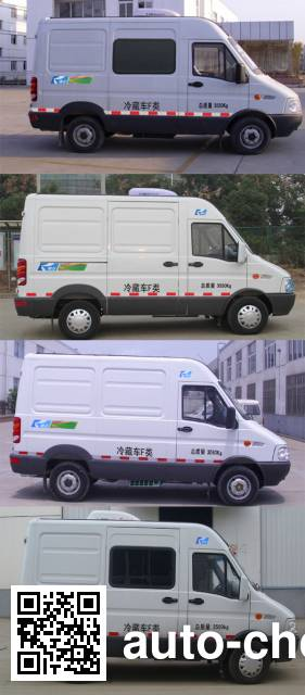 康飞牌KFT5041XLC5A冷藏车