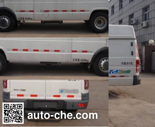 Kangfei KFT5041XLC5G refrigerated truck