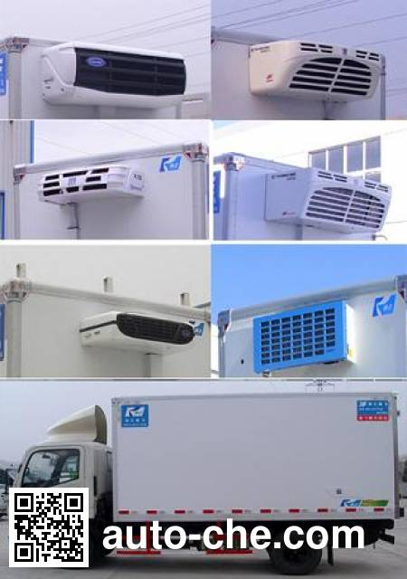 Kangfei KFT5042XLC46 refrigerated truck