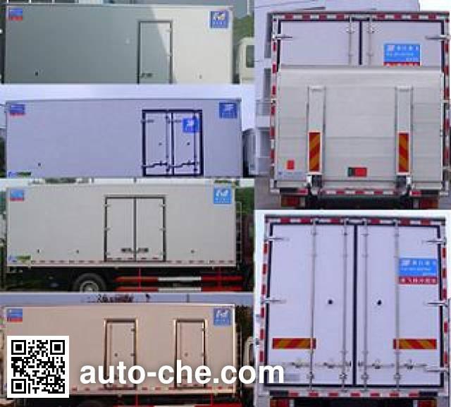 Kangfei KFT5163XXY4 box van truck