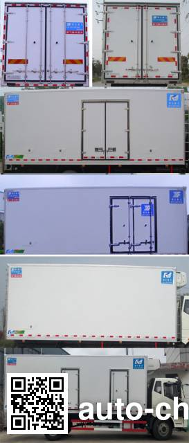 Kangfei KFT5167XLC4 refrigerated truck