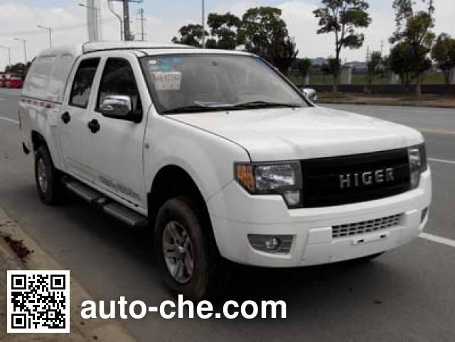 Higer KLQ5033XXYE44 box van truck