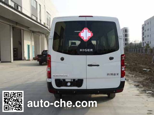 Higer KLQ5040XJHE4 ambulance