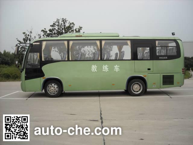 Higer KLQ5126XLHE4 driver training vehicle