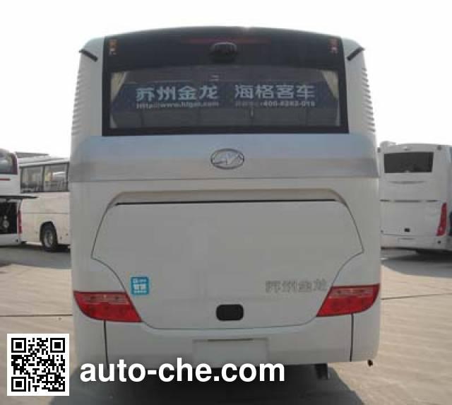 海格牌KLQ6105ZAHEVE5混合动力城市客车