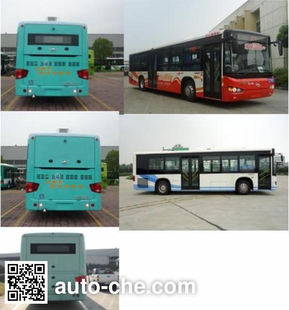 海格牌KLQ6109GAEV2纯电动城市客车