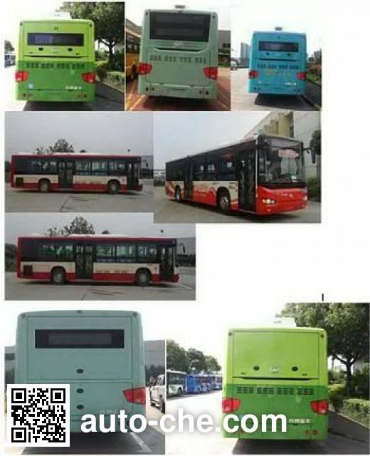 海格牌KLQ6109GAEVW2纯电动城市客车
