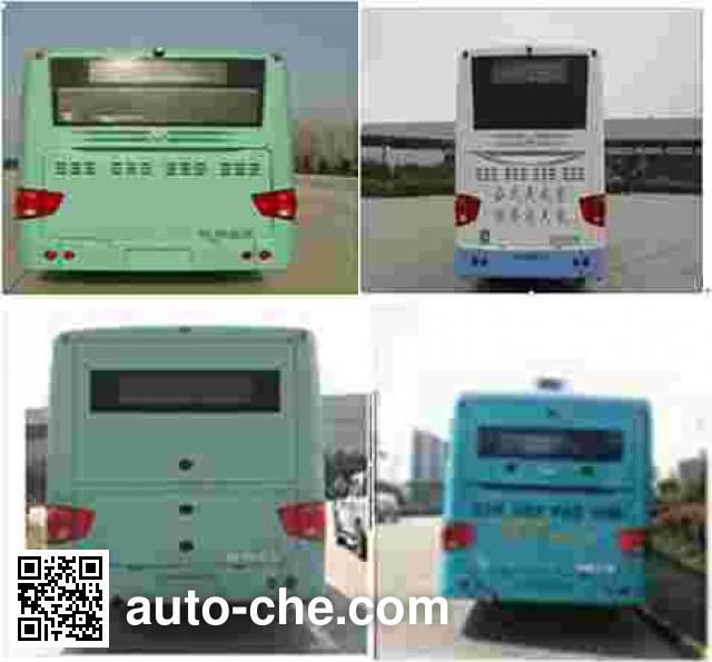 海格牌KLQ6129GAHEVC5D混合动力城市客车