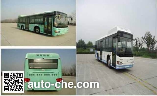 海格牌KLQ6109GAHEVC5D混合动力城市客车
