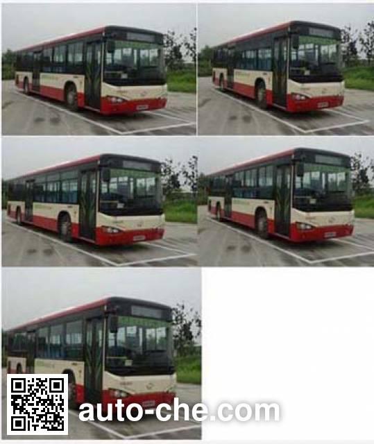 海格牌KLQ6109GAHEVC5E混合动力城市客车