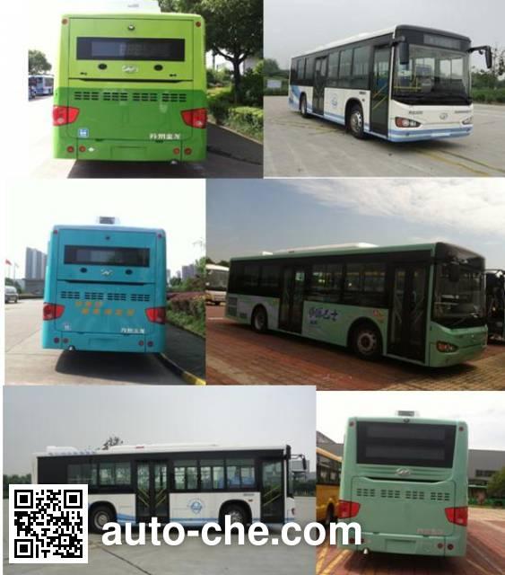 海格牌KLQ6109GAHEVE4B混合动力城市客车
