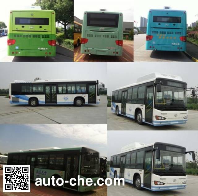 海格牌KLQ6109GCHEV1B混合动力城市客车