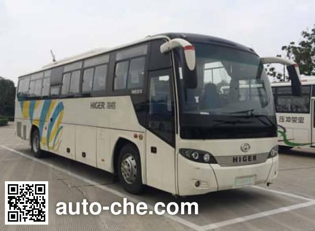 海格牌KLQ6115HZAHEVC5混合动力城市客车