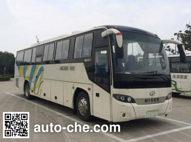海格牌KLQ6115HZAHEVE4混合动力城市客车