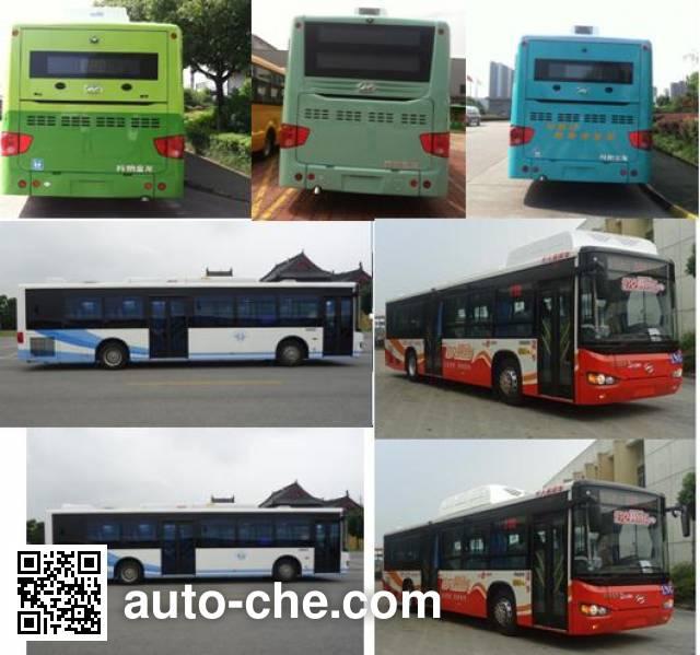 Higer KLQ6119GAHEVC5 hybrid city bus