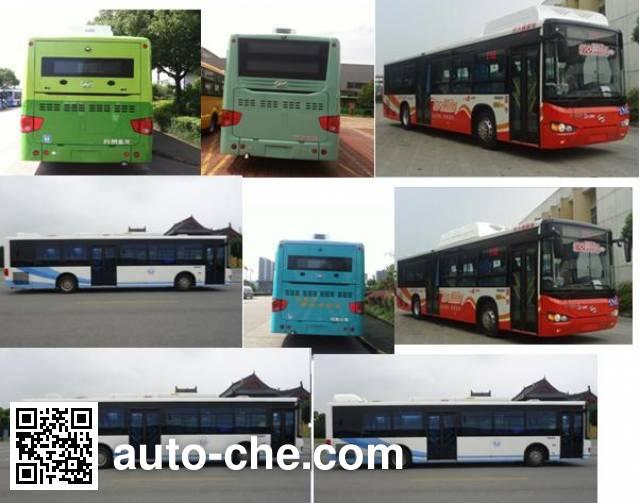 海格牌KLQ6119GAHEVC5B混合动力城市客车