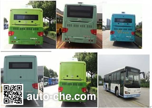 海格牌KLQ6119GHAEV1纯电动城市客车