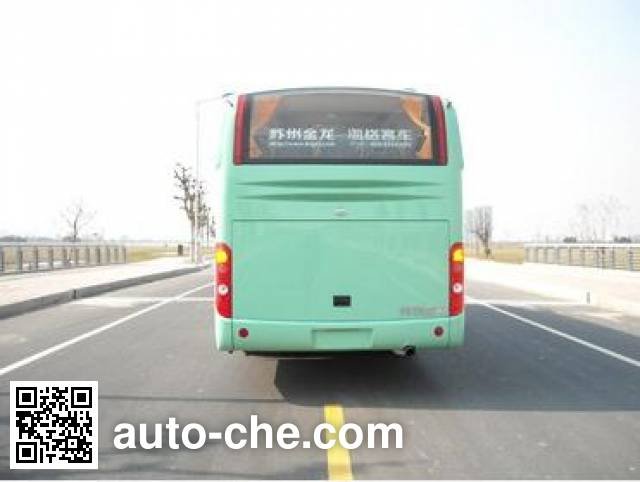 海格牌KLQ6119TBE5B客车