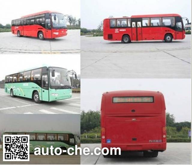 Higer KLQ6119TBE4 bus