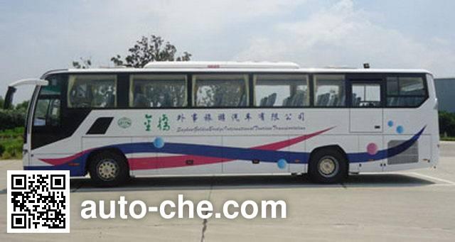 海格牌KLQ6125HTAE50客车