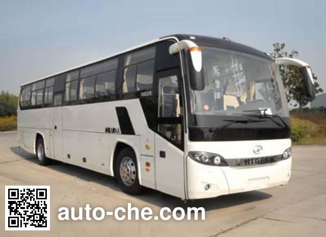 海格牌KLQ6122ZAHEVE5混合动力城市客车