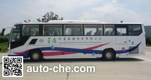 海格牌KLQ6125ZAEV1纯电动客车