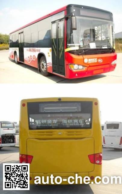 海格牌KLQ6129GAE6城市客车