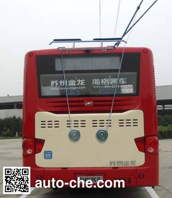 海格牌KLQ6129GAEV4纯电动城市客车