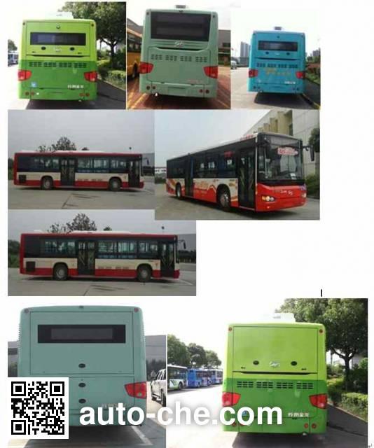 Higer KLQ6109GAEVN1 electric city bus