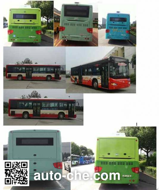 Higer KLQ6119GAHEVE5D hybrid city bus
