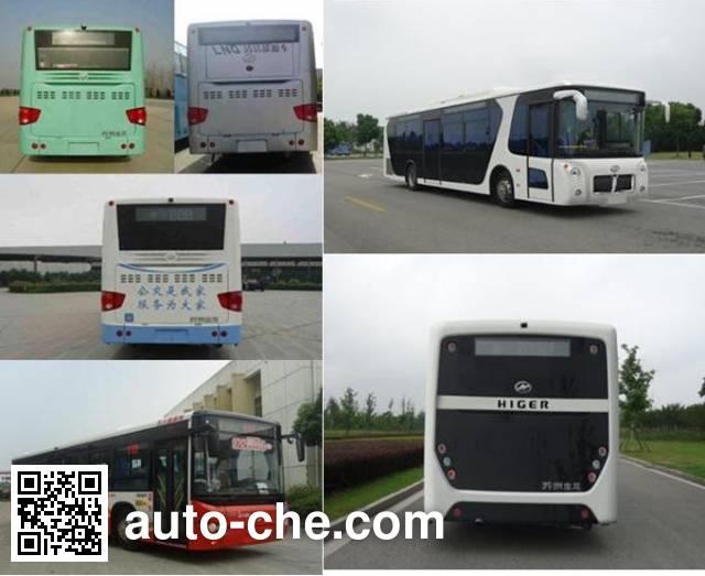 Higer KLQ6129GAHEVE4B hybrid city bus