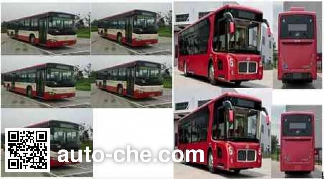 海格牌KLQ6119GAHEVC5E混合动力城市客车