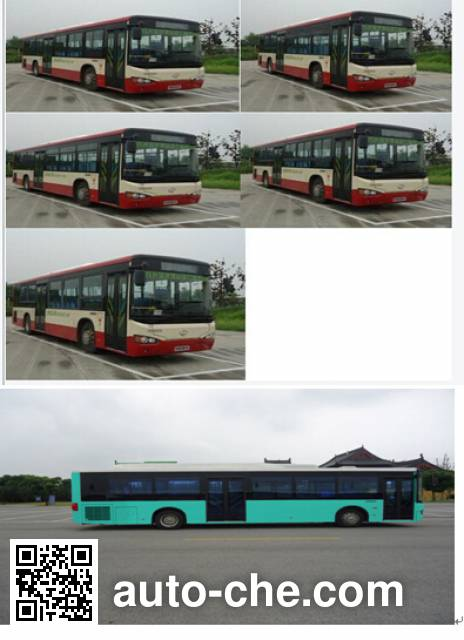 海格牌KLQ6129GAEVN1纯电动城市客车