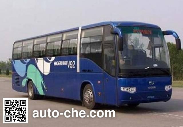 海格牌KLQ6129KAE51B客车