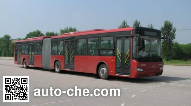 海格牌KLQ6181GQE4铰接城市客车