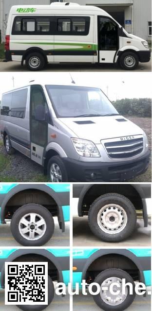 Higer KLQ6601BEV1X1 electric bus