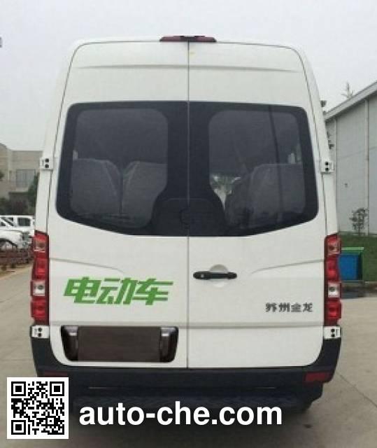 海格牌KLQ6601GBEVX3纯电动城市客车