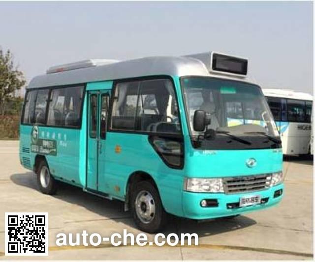 海格牌KLQ6602GEVH纯电动城市客车