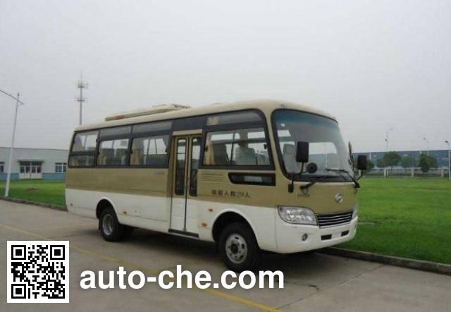 海格牌KLQ6729E40A客车