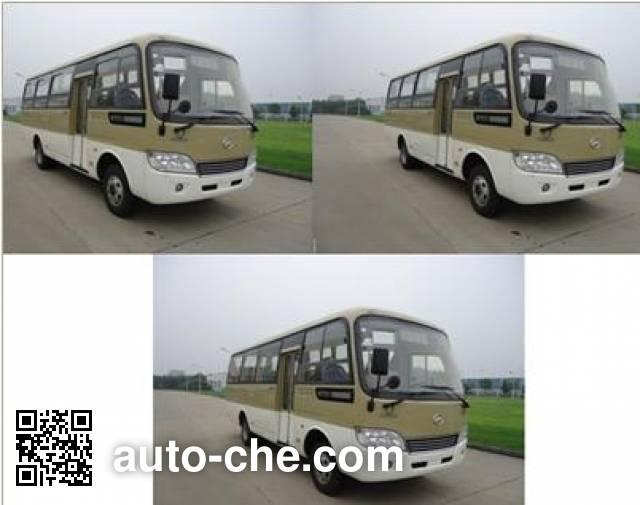 海格牌KLQ6729GE5城市客车