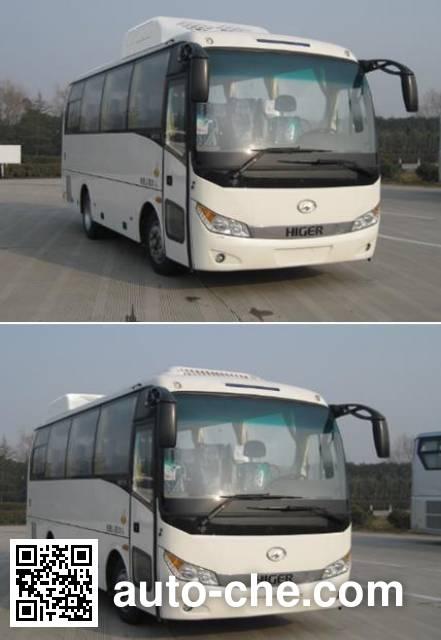 海格牌KLQ6755KQC51客车