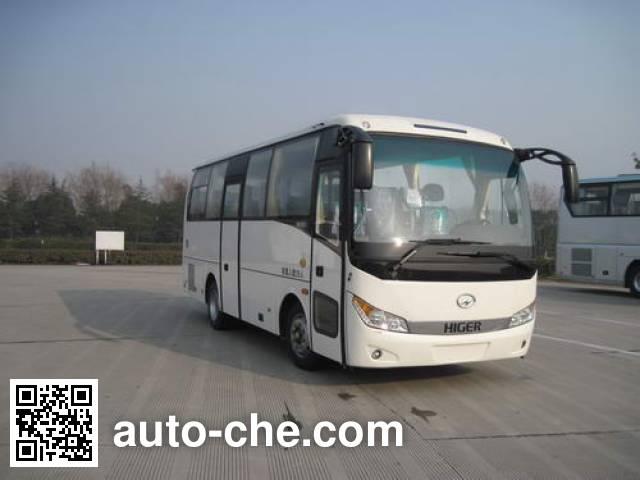 海格牌KLQ6755KQE40客车