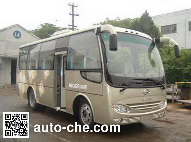 海格牌KLQ6758AE5客车