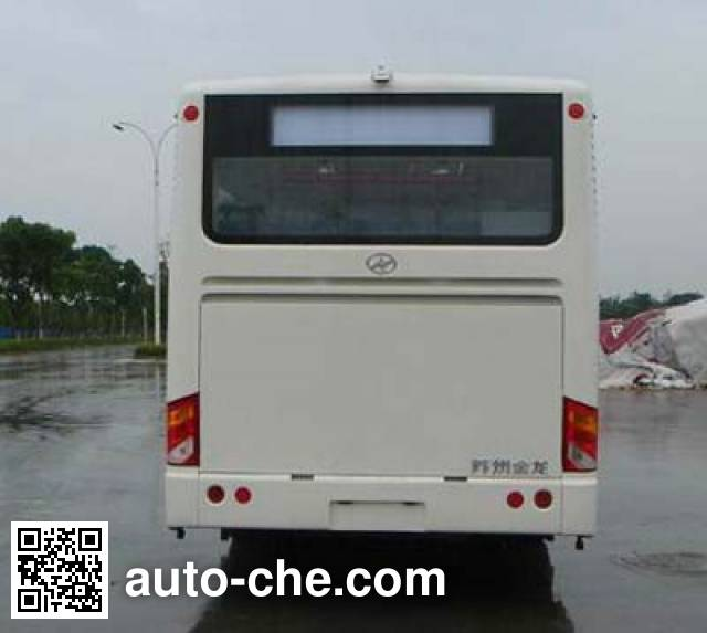 海格牌KLQ6800GEVN2纯电动城市客车