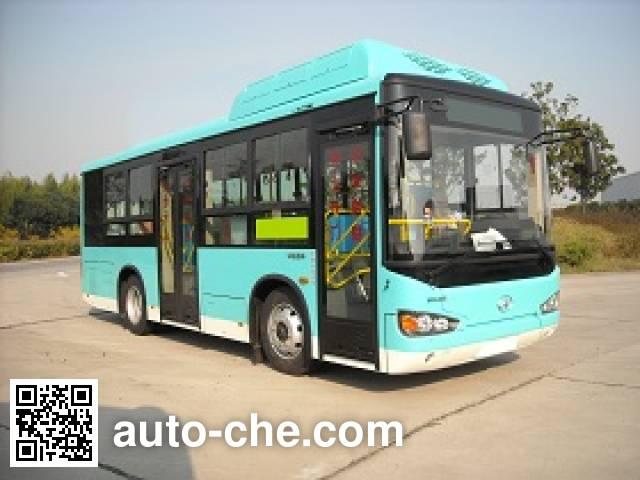海格牌KLQ6850GAHEVC5F混合动力城市客车