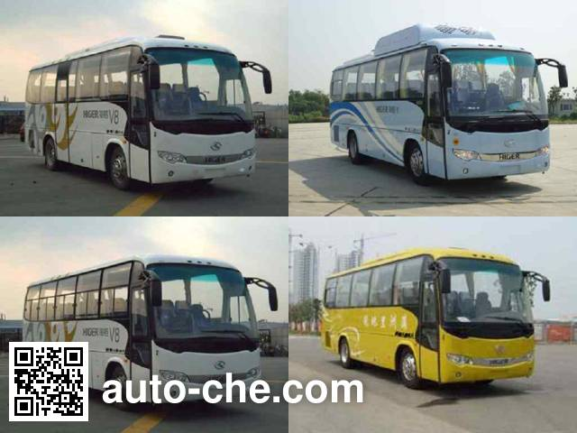 海格牌KLQ6856KQC50客车