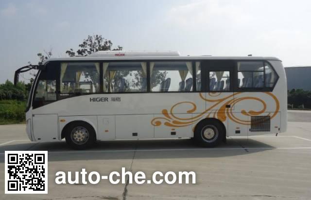 海格牌KLQ6898QE5客车