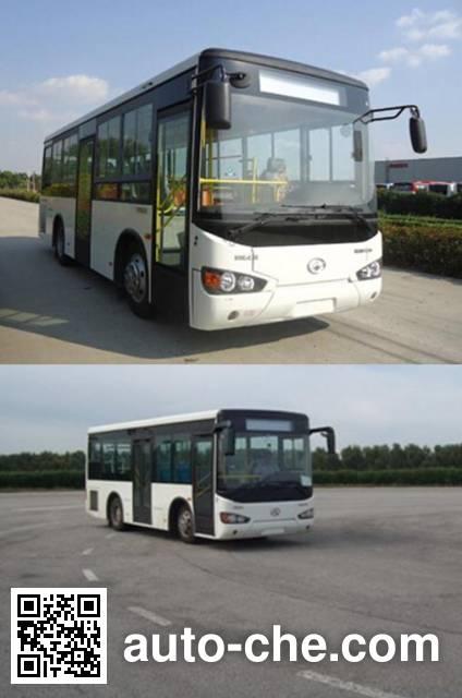 Higer KLQ6935GAHEVE4D hybrid city bus