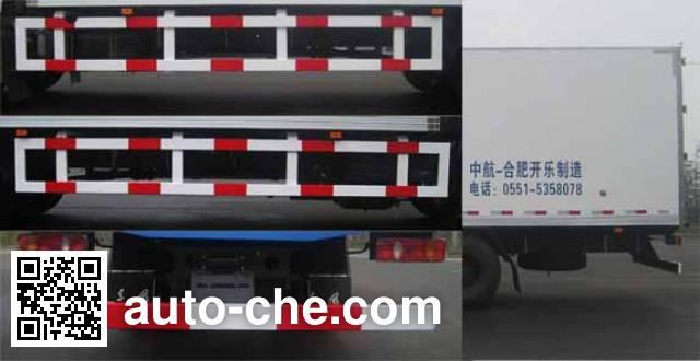 天载牌KLT5162XLC冷藏车