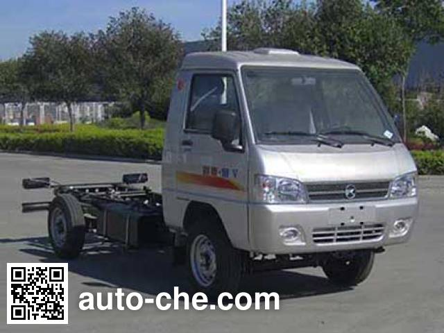 凯马牌KMC1020L27D5两用燃料载货汽车底盘